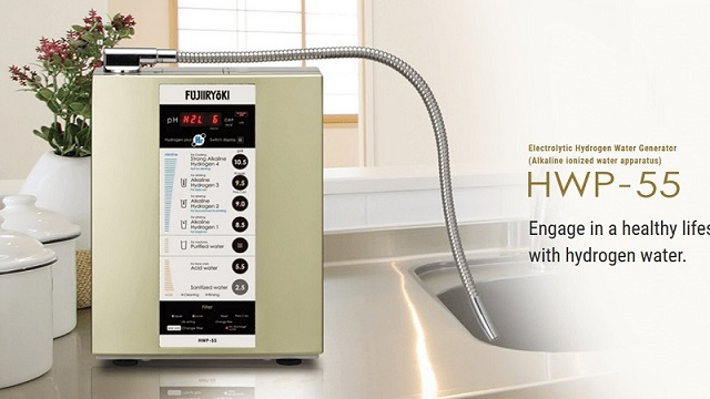 Fujiiryoki HWP-55 là dòng sản phẩm lọc nước ion kiềm có xuất xứ từ Nhật Bản