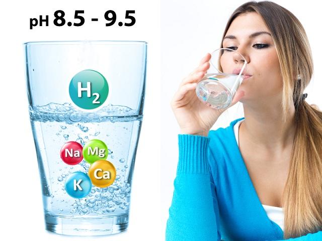 Nước ion pH8.5 – 9.5 là điều kiện tốt nhất cho cơ thể hấp thu
